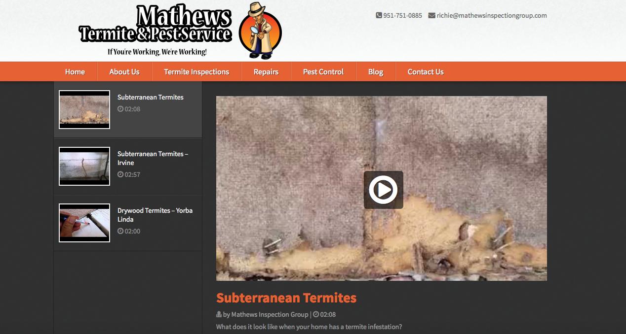 Mathews Termite and Pest Service